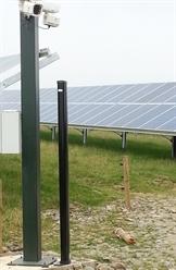 Optex REDNET RN Охрана территории солнечной электростанции
